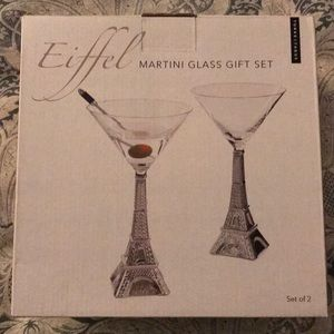 eiffel tower martini glasses